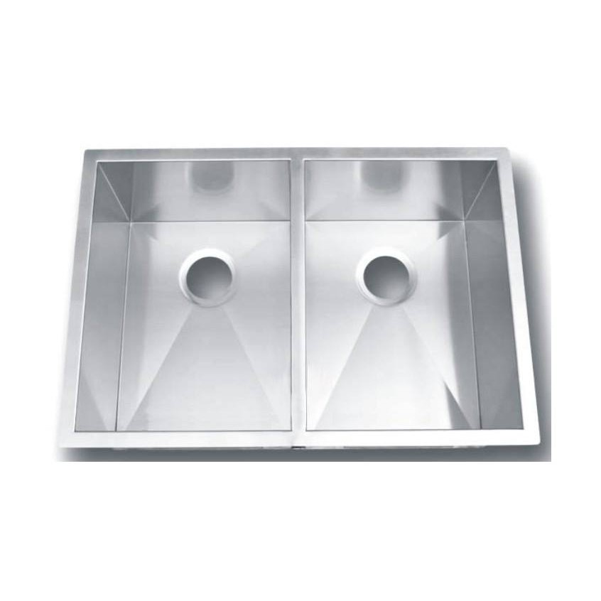 Double Bowl Stainless Steel Sink NKS-8147-R15