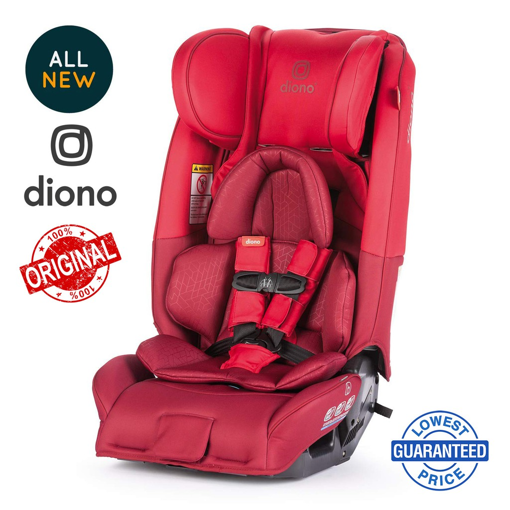 Diono Radian 3 RXT All-in-One Convertible Booster Child Safety Car Seat Black