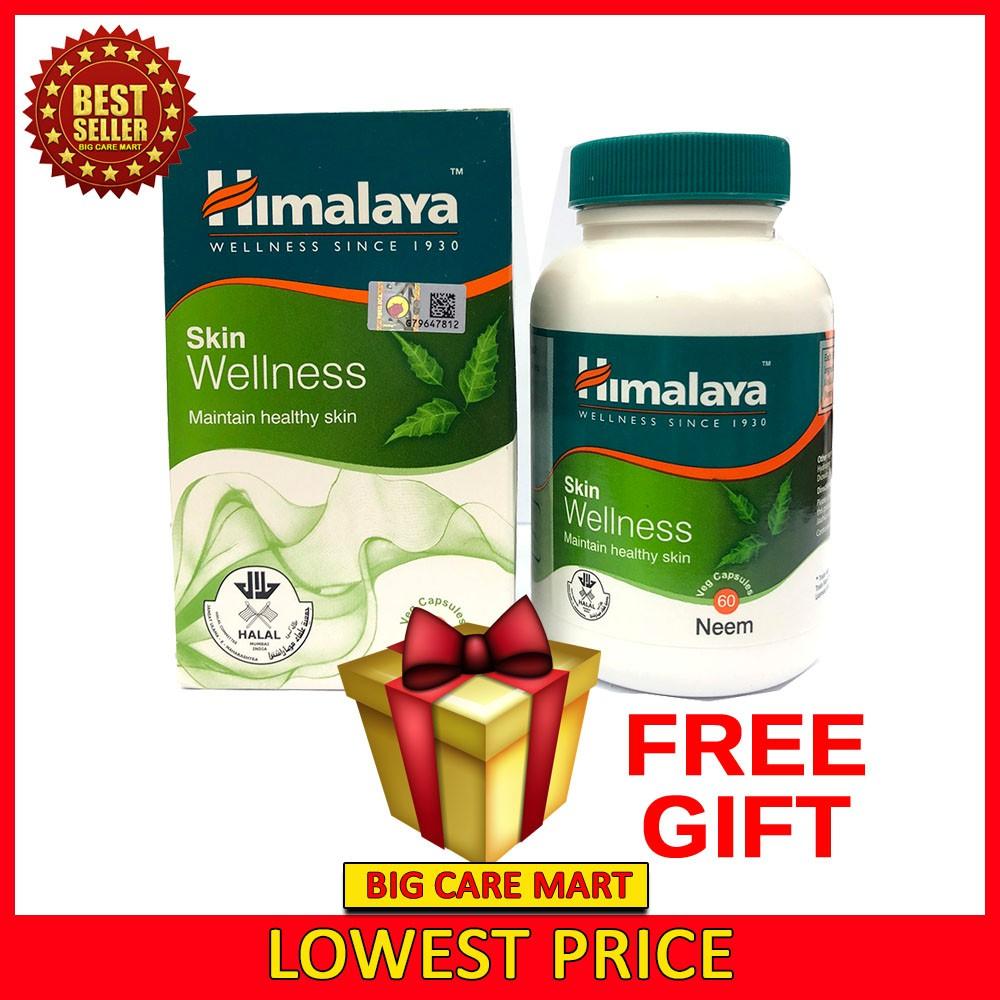 Himalaya Skin Wellness Neem 60s + FREE GIFT  [100% Original KKM Approval]