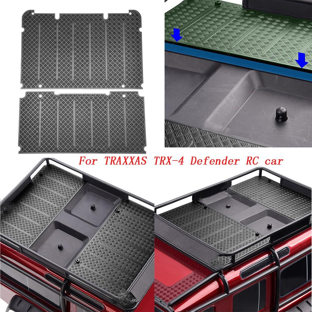 Metal Luggage Rack Anti-skid Plate for TRAXXAS TRX-4 Defender RC Crawler Car