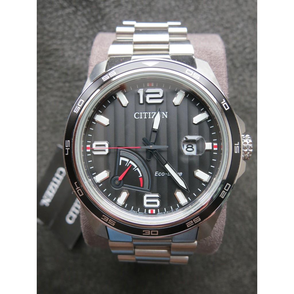 Citizen Prt Black Dial Mens Stainless Steel Watch Aw7030 57e Fossil Fs5182 Set