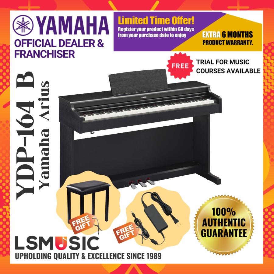 Yamaha Arius YDP-164 88-Keys Digital Piano ( YDP164 / YDP 164 ) Black / Rosewood / White Ash / White