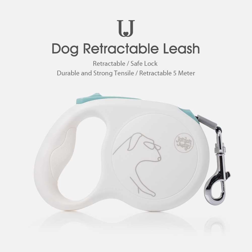 Xiaomi Youpin Dog Retractable Leash 5 Meter Dog Traction Rope Break Lock System Pet Leash Traction Rope Walking Lead Le