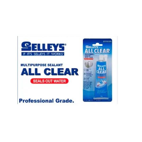 Selleys All Clear 75g Tube - Multipurpose Sealant