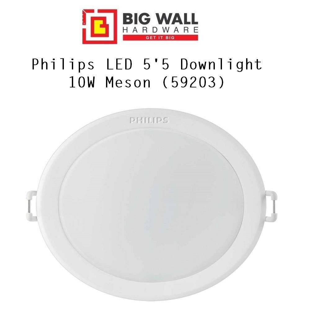 """Philips 5.5"""" Recessed LED Downlight 10W (CDL/WW) 6500k/3000k  (Meson 59203) Lamp Siling"""