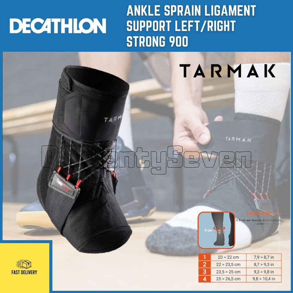DECATHLON ANKLE SPRAIN LIGAMENT SUPPORT STRONG 20 LEFT/RIGHT ...