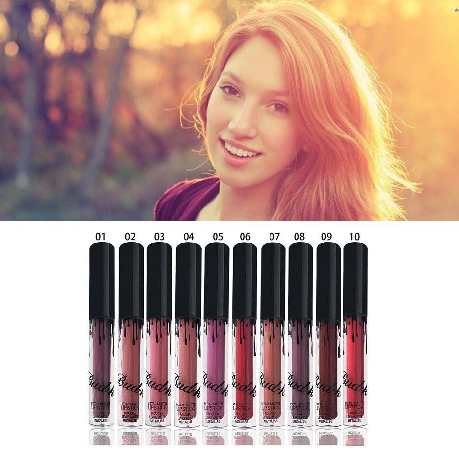 Women Matte Sexy Color Lipstick Lip Makeup Cosmetic Lip Paint Matte Lipstick