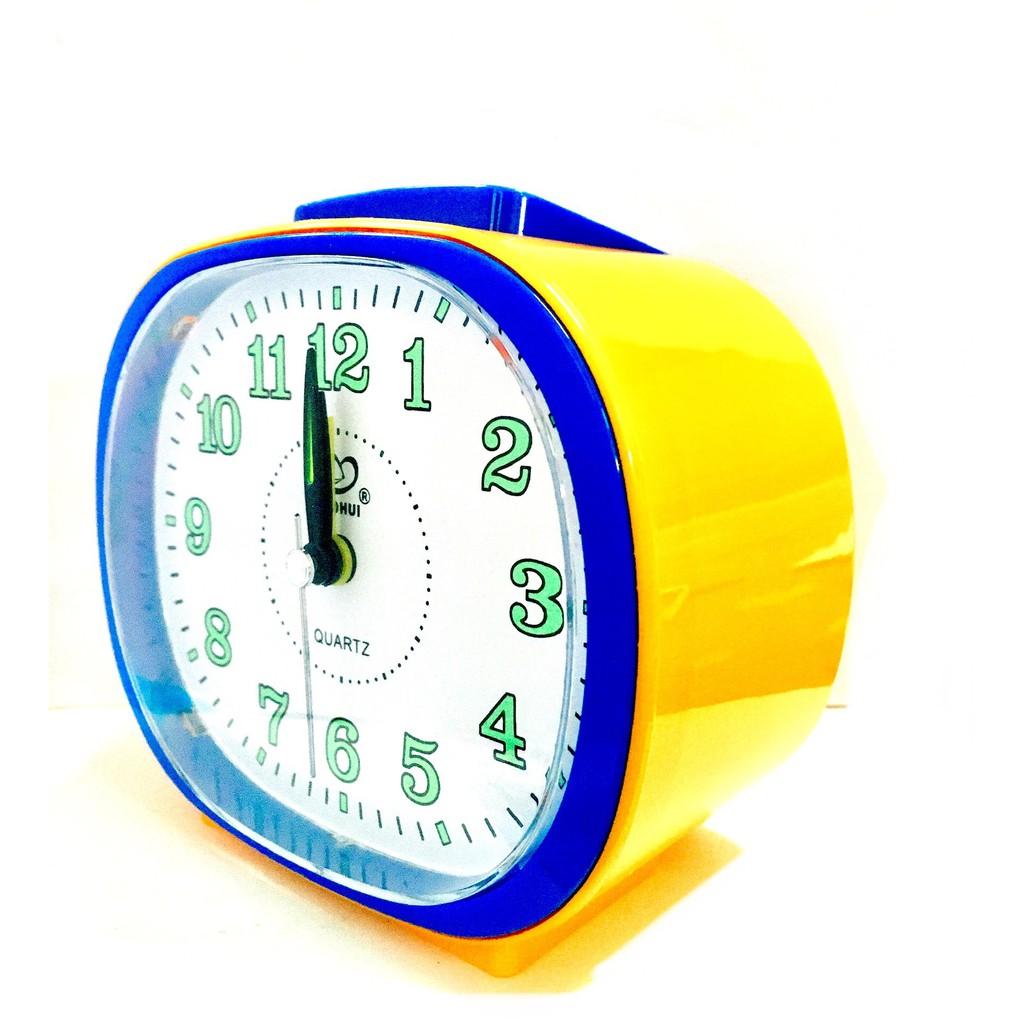 Globe Alarm Quartz Clock Loud Sound With Night Light BH110W