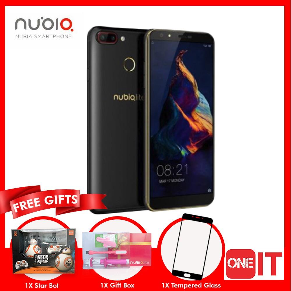 Nubia N2 Lite (3GB RAM + 32GB ROM/Fingerprint) [Free Tempered Glass]