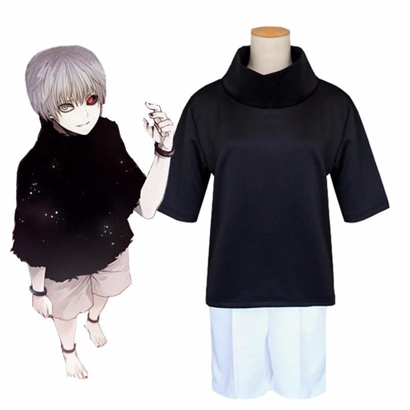 Tops  shorts Cosplay party Costume shorts Anime Tokyo Ghoul Kaneki Ken Tops