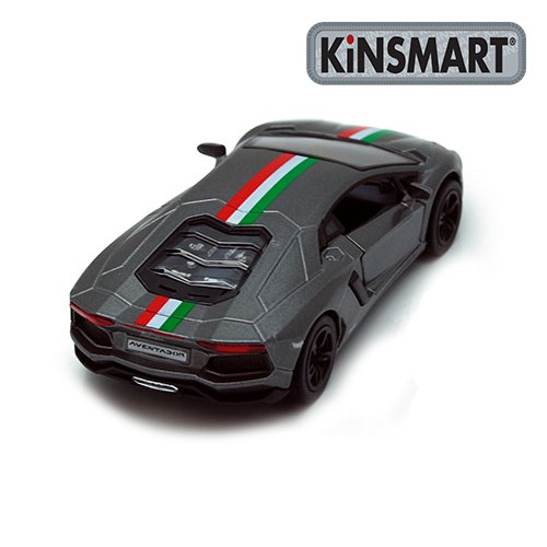 Kinsmart Aventador LP700-4 diecast Model Grey Model Collection New 1:34