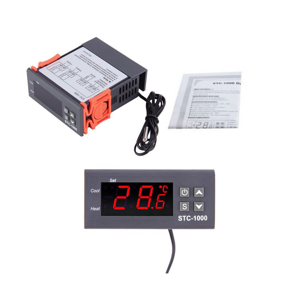 110v 220v Stc 1000 All Purpose Temperature Controller Thermostat Wiring Diagram For Controlled Shopee Malaysia