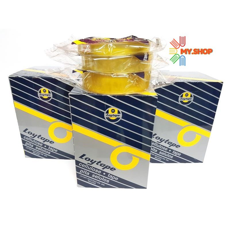 Loytape Cellulose Tape  40yards price per box