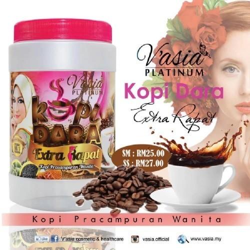 VAsia Platinum Kopi Dara Extra Rapat Wanita 13in1 V'Asia (10sachets x 25g)