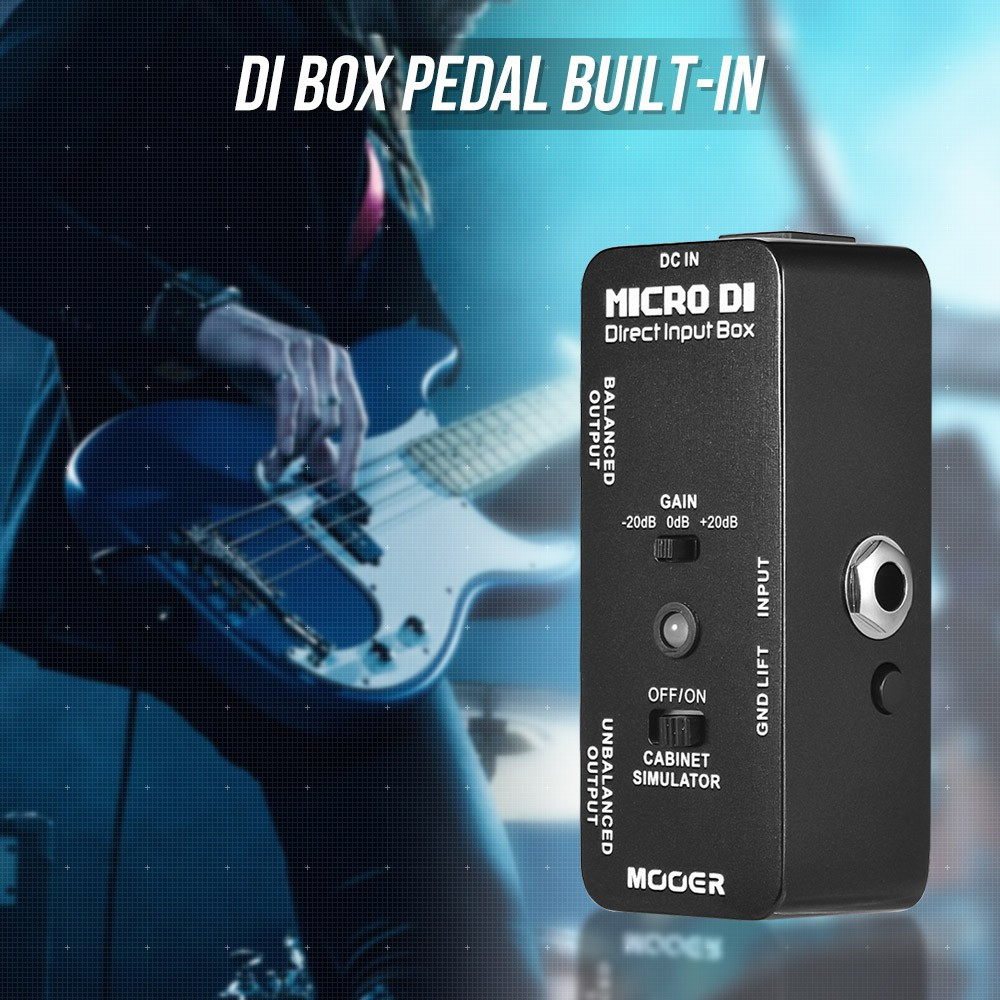 Sports & Entertainment Mooer Expline Expression Electric Guitar Effects Pedal True Bypass Pressure Sensing Attractive Appearance