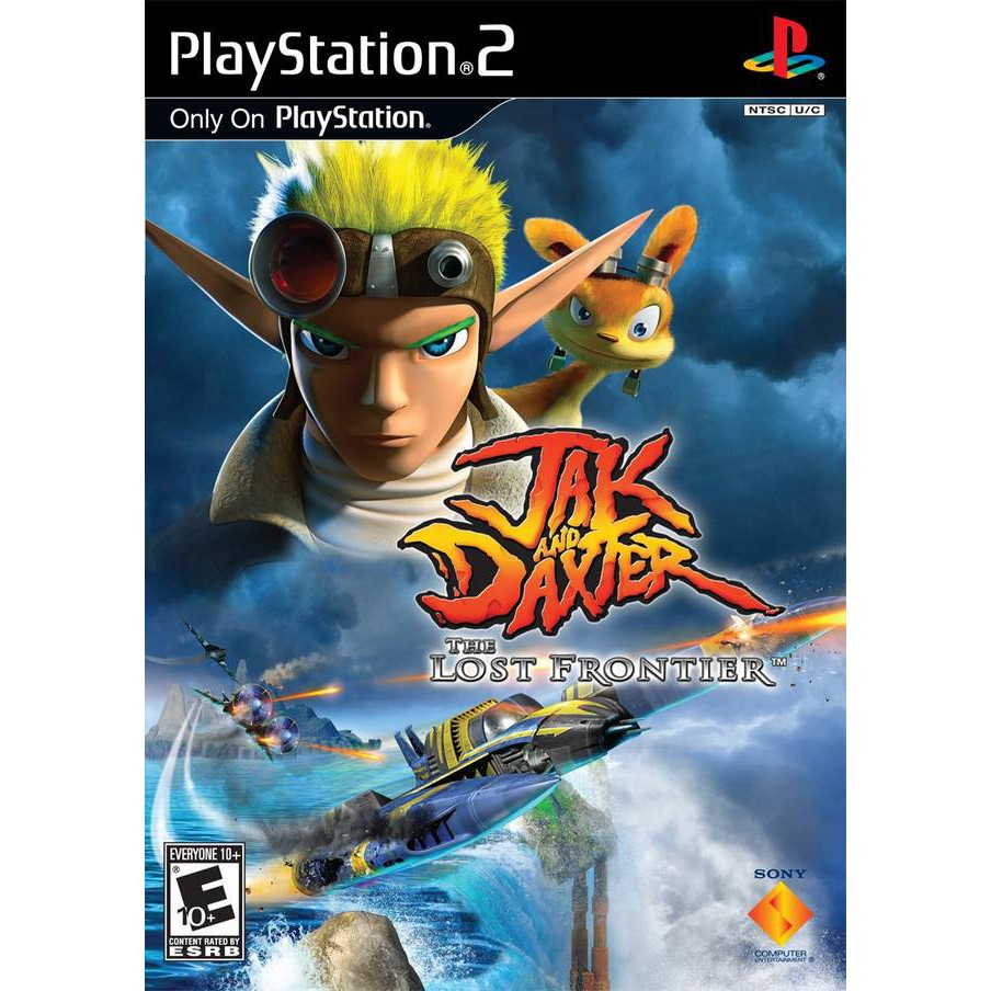 PS2 Game Jak and Daxter The Lost Frontier, The Precursor Legacy, English version, Action Game / Playstation 2