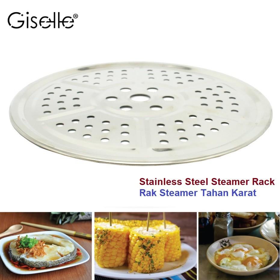 Giselle Stainless Steel Steaming Circle Rack (21.8 cm) KEA0222S3