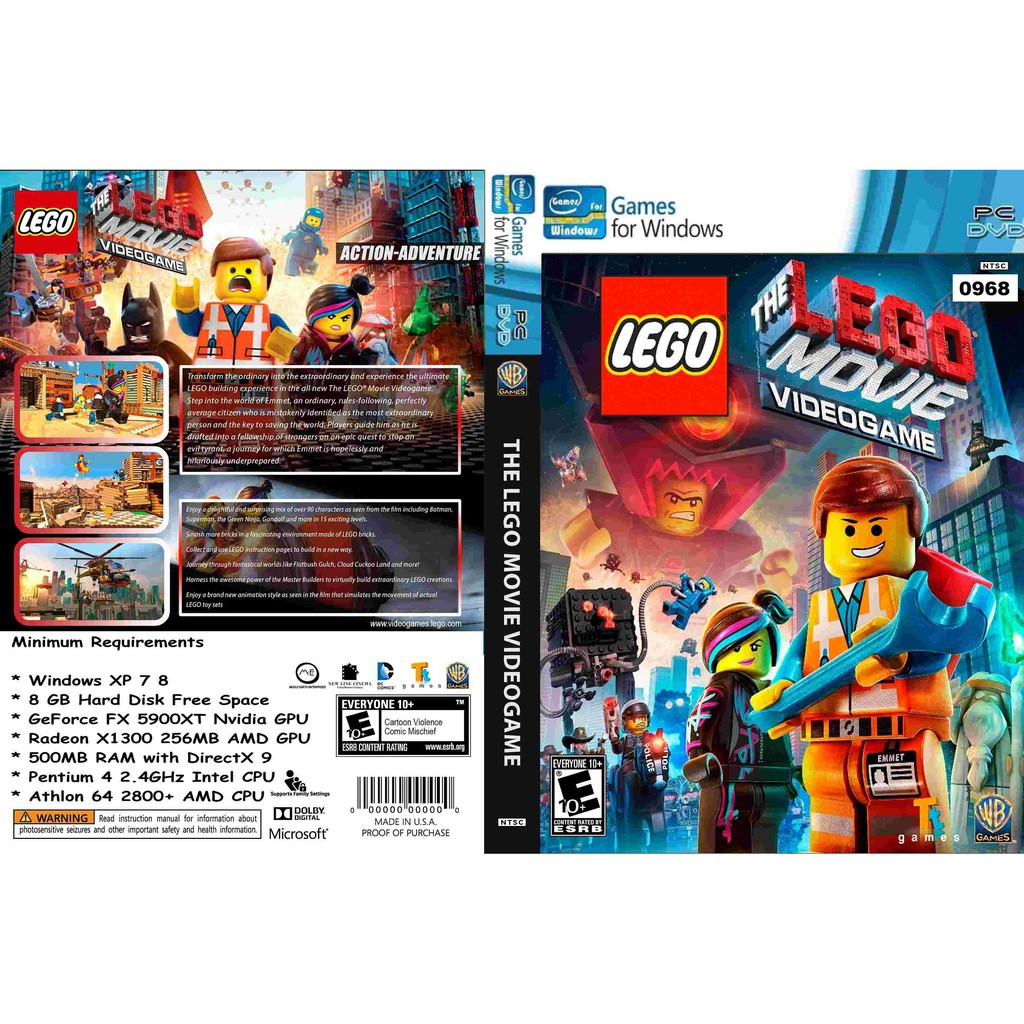 (PC) The LEGO Movie Videogame