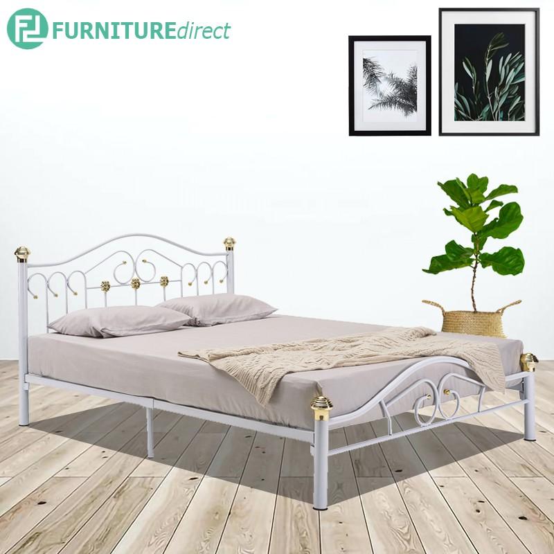 HADLEY queen size metal bed