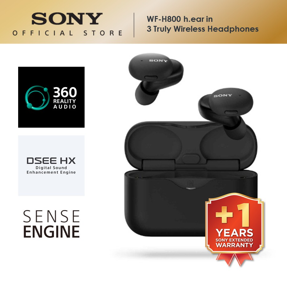 Sony WF-H800 h.ear in 3 Truly Wireless Headphones