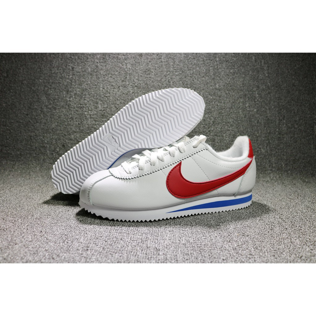 new arrival 6e0ab 8ee72 high quality free shipping NIKE cortez SE classic 40TH white red running  shoes