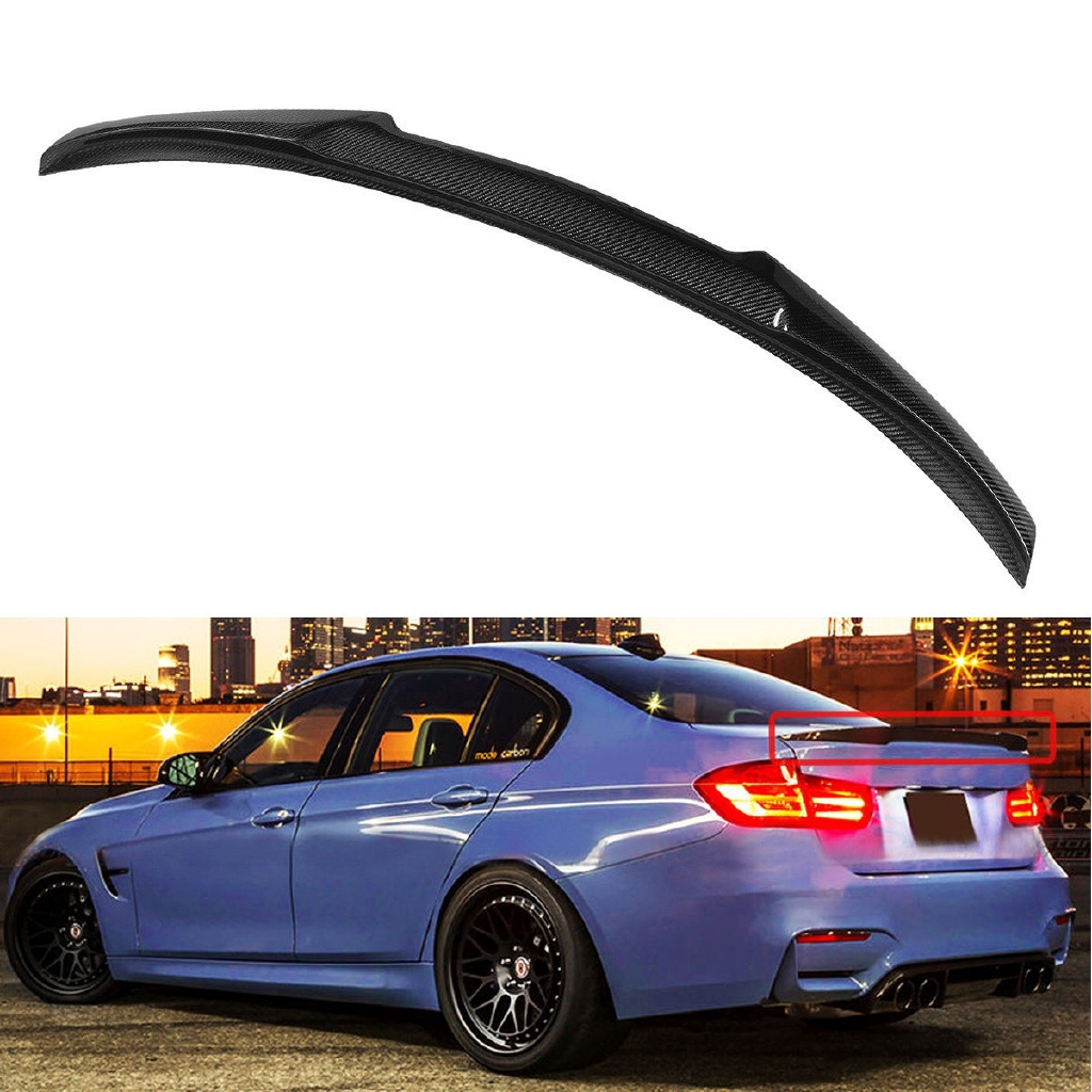 Fits 12-18 F30 3 Series OE Replacement M Sports Upgrade Matte Black Mirror Cover