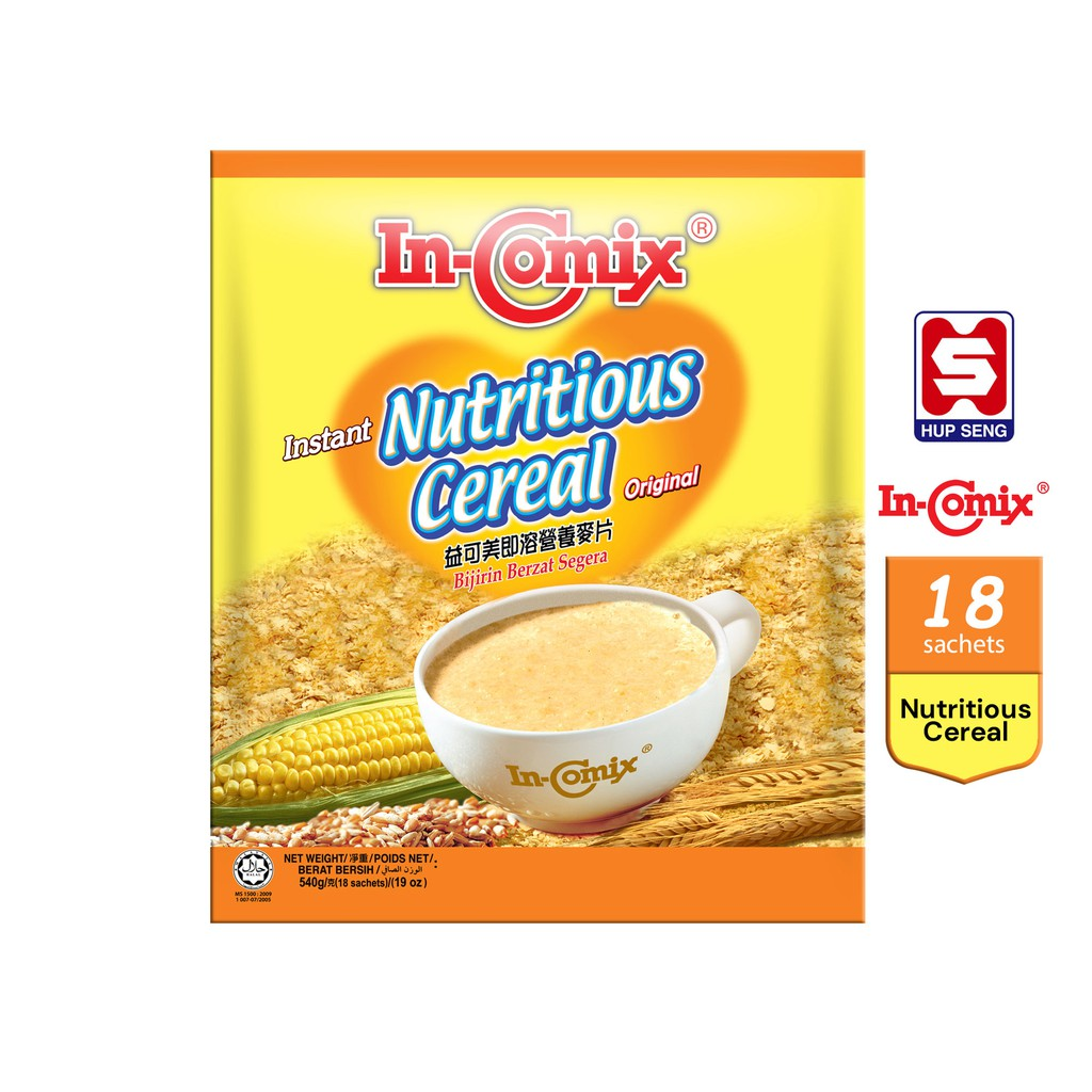 In-Comix Instant Nutritious Cereal Original (30g x 18's)