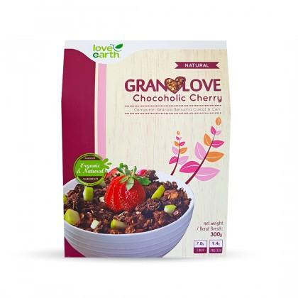 Love Earth Chocoholic Cherry Granolove 300g Granolove 巧克力粒樱桃格兰诺拉 300公克 (盒装)