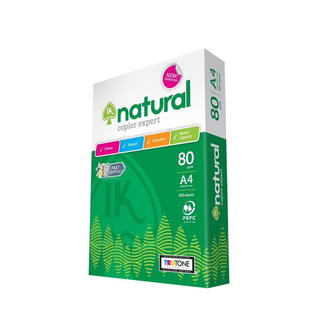 IK Natural 80g A4 Paper - 500's