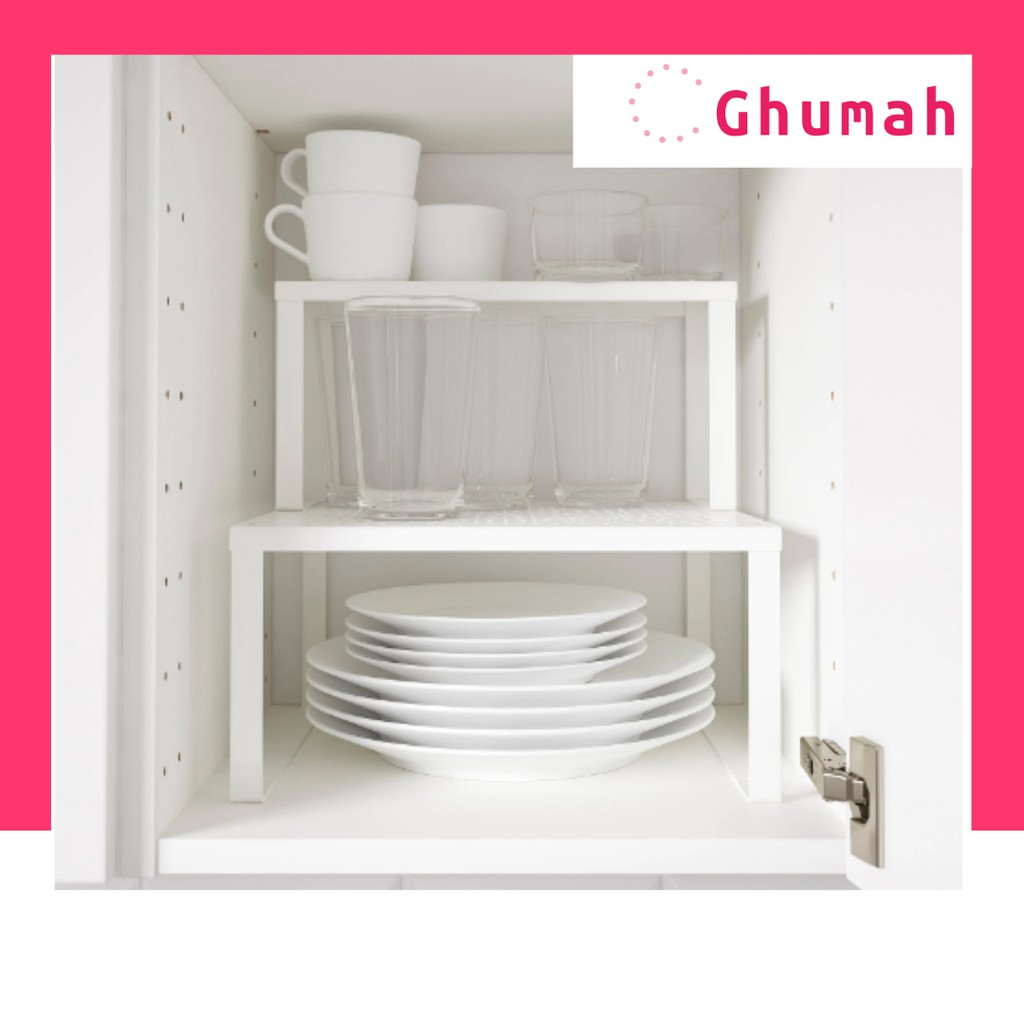 Free Gift Ready Stock Ikea Variera Shelf Insert Kabinet Dapur Kitchen Shelf Storage Shopee Malaysia