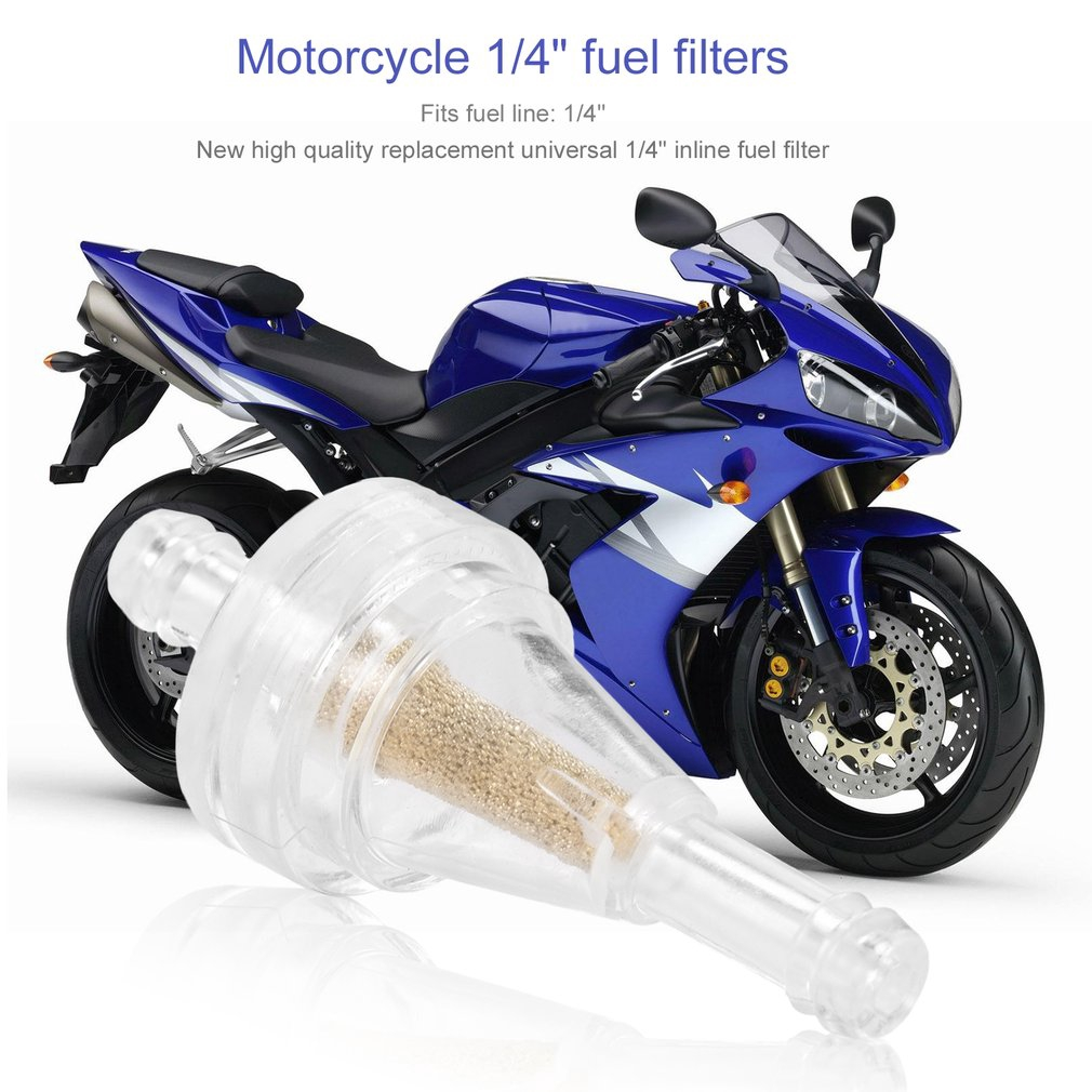 Inline Gas Atv Hose Line Magnet Motorcycle Fuel Filter Shopee Malaysia Automotive In Filters
