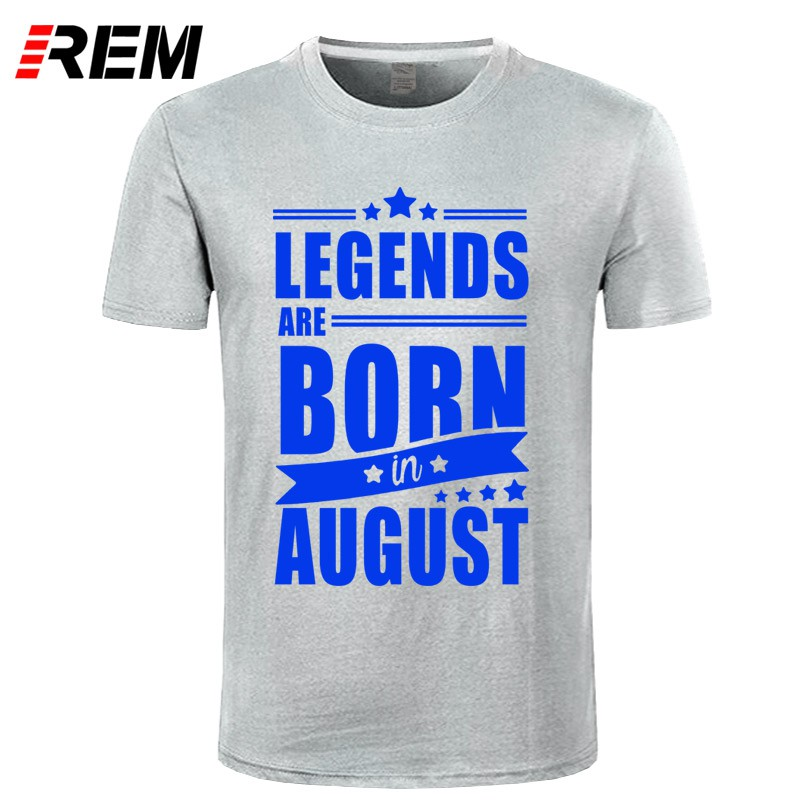 2cc3db78c Men Legends Are Born In September Birthday Gift T Shirt Male Tees Tops |  Shopee Malaysia