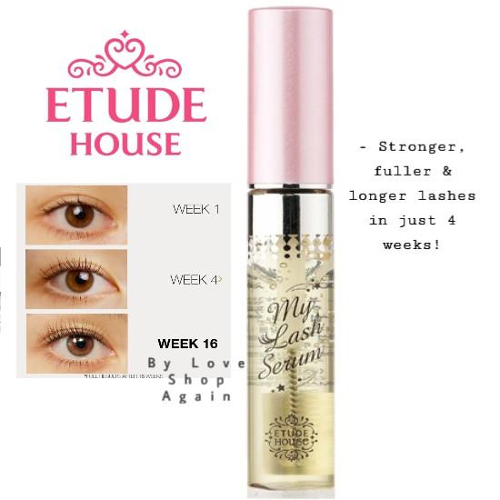 Original from Etude House Malaysia Store My Lash Serum 9g / Eyelash Serum