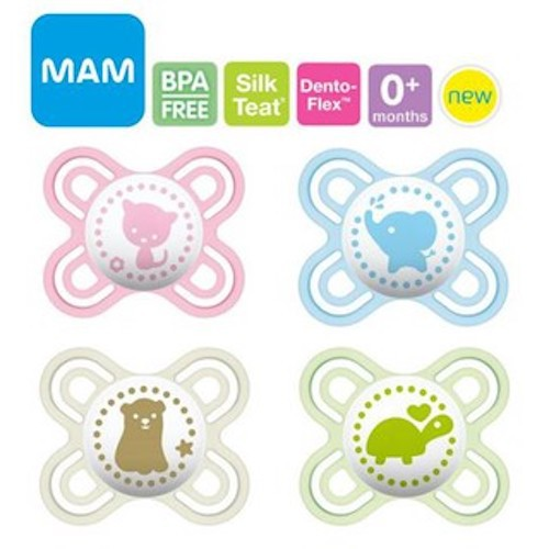 BEST MAM Start Silicone Dummies Pack Of 2 For Ages 0 2 Months The MAM So PREMIU