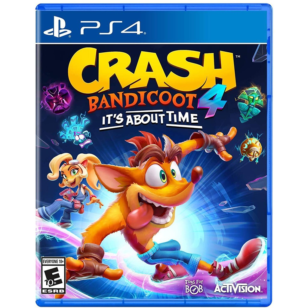 [PRE-ORDER] PS4 Crash Bandicoot 4: It's About Time