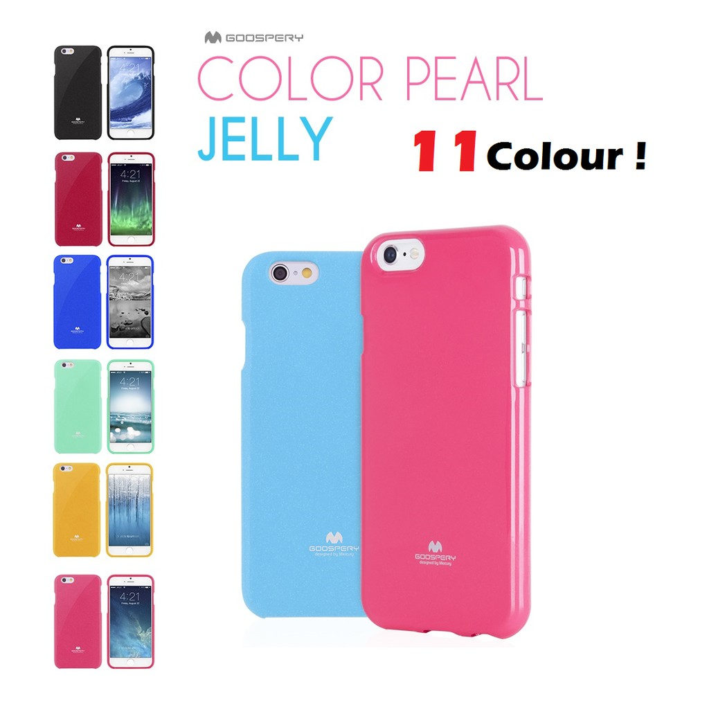 Mercury Goospery Iphone 4 5 6 6s 7 Plus Casing Tpu Case Shopee 8 Pearl Jelly Yellow Malaysia