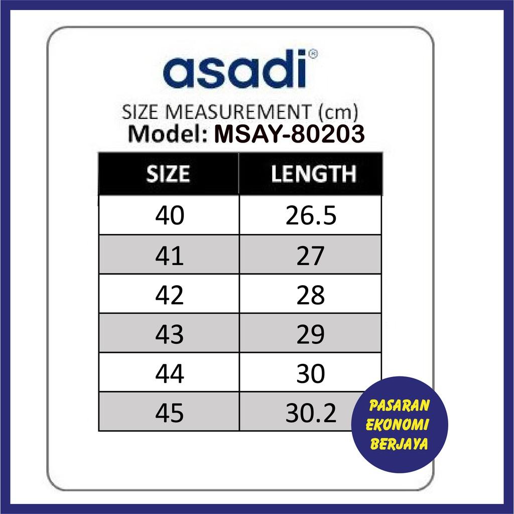 SELIPAR DEWASA LELAKI ASADI MSAY-80203/ SELIPAR DEWASA LELAKI/ SELIPAR DEWASA ASADI/ ASADI MEN/ SANDAL/ SLIPPER