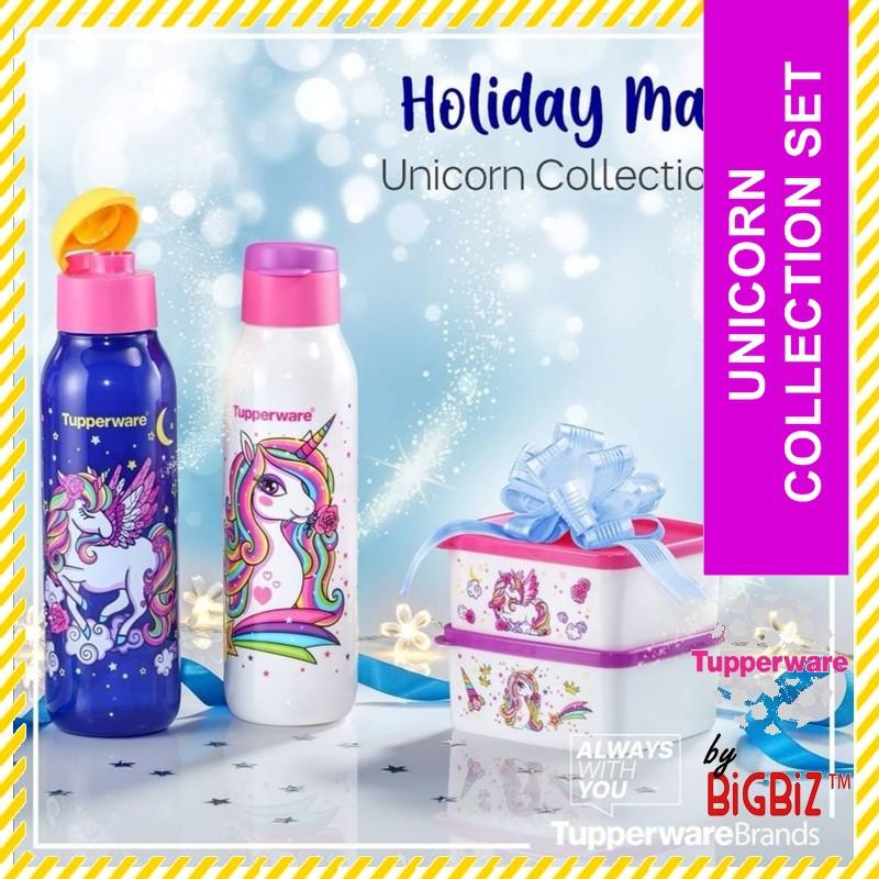 TUPPERWARE Unicorn Collection Bottle Set / Snack Box / Limited Edition / Raya Sales [READY STOCK]