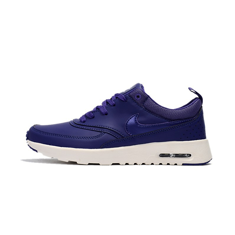 New Color Nike Air Max Thea Print Running Shoes Mens Shoes Casual Blue White
