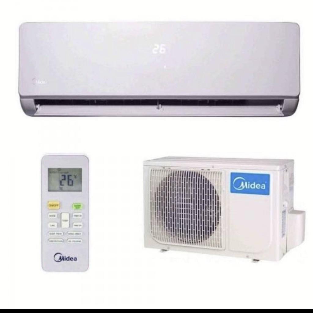 Midea 1.0HP wall type air con R410A Gas (MD-MSK4-09CRN1) 9,500 Btu/hour