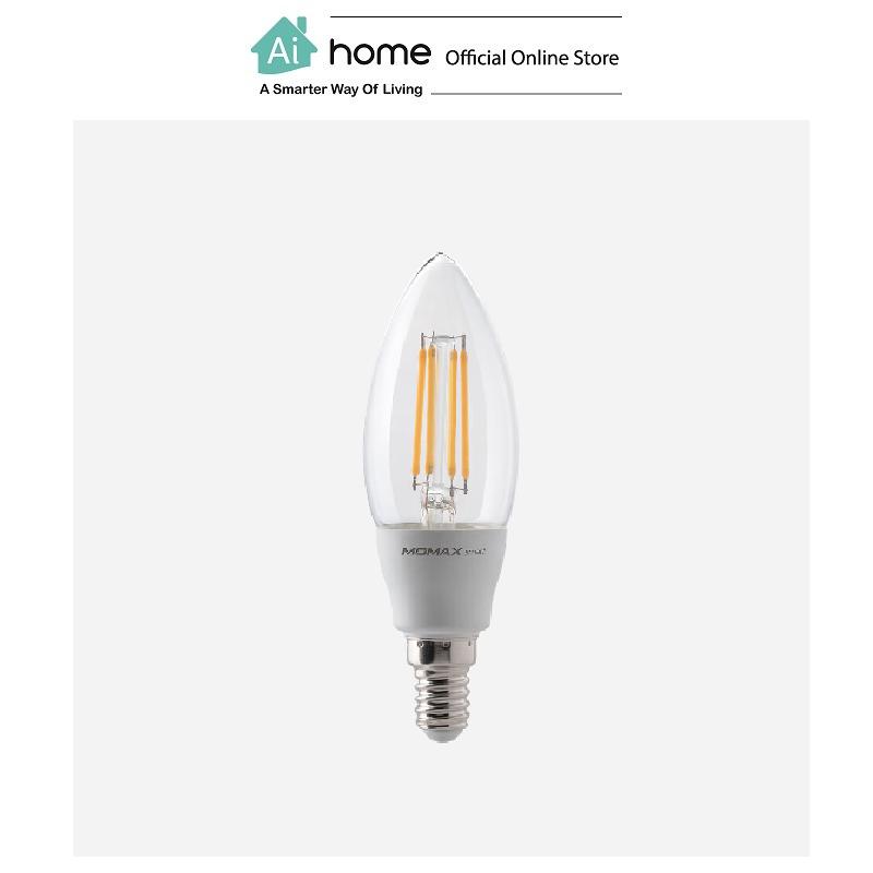 MOMAX IOT Smart Classic LED Bulb (CANDLE) /E14 (IB1SY) [ Ai Home ]