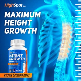 Height Growth Maximizer Natural Height Pills To Grow Taller Made In Usa Growth Pills With Calcium For Bone Strength Get Taller Supplement That Increases Bone Growth Free
