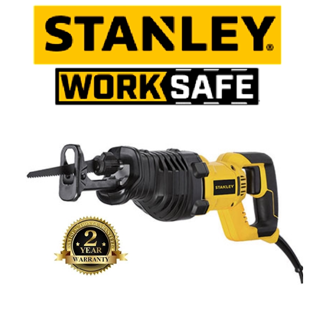 STANLEY STEL 365-B1 RECIPROCATING SAW 3200SPM EASY USE SAFETY GOOD