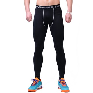 6445fa41ca5b7 Men Compression Pants Gym Fitness Sports Running Leggings Quick-drying Fit  Pant