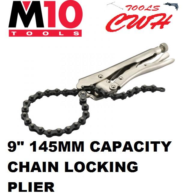 "PLP-250 9"" M10 CHAIN LOCKING PLIER PLIERS"