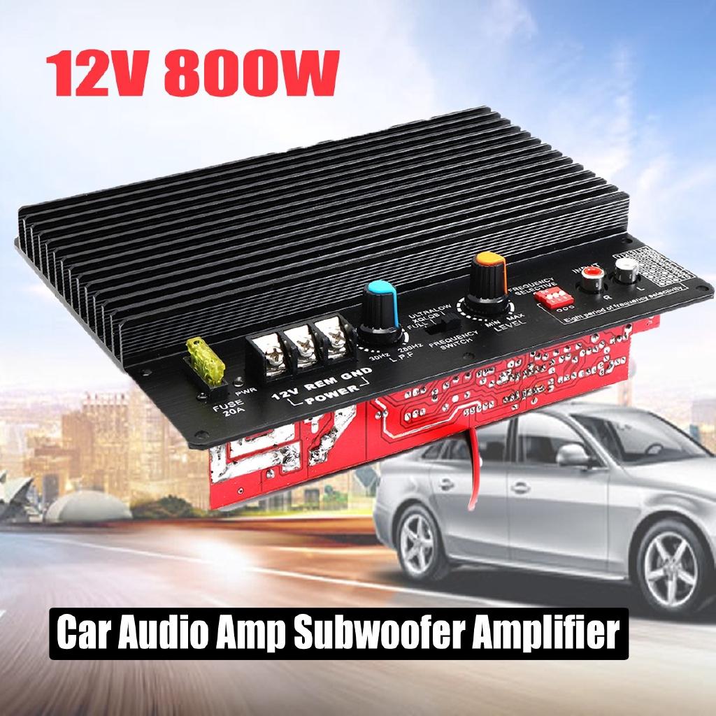 12v 1000w Mono Car Audio High Power Amplifier Board Super Bass Subwoofer Home Shopee Malaysia