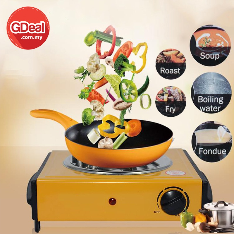 GDeal Multifunctional Electric Stove Modern Portable Travel Outdoor Indoor Mini Electric Stove