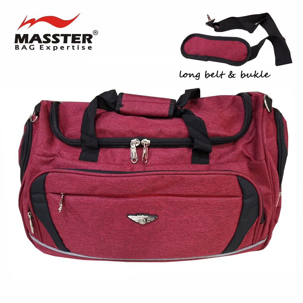 """Masster Outdoor Sports Travel Gym Duffle Bag with Long Belt 24"""" (36449TV)"""