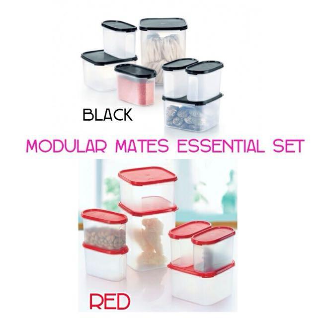 Tupperware MM Modular Mates Essential Set (7pcs)