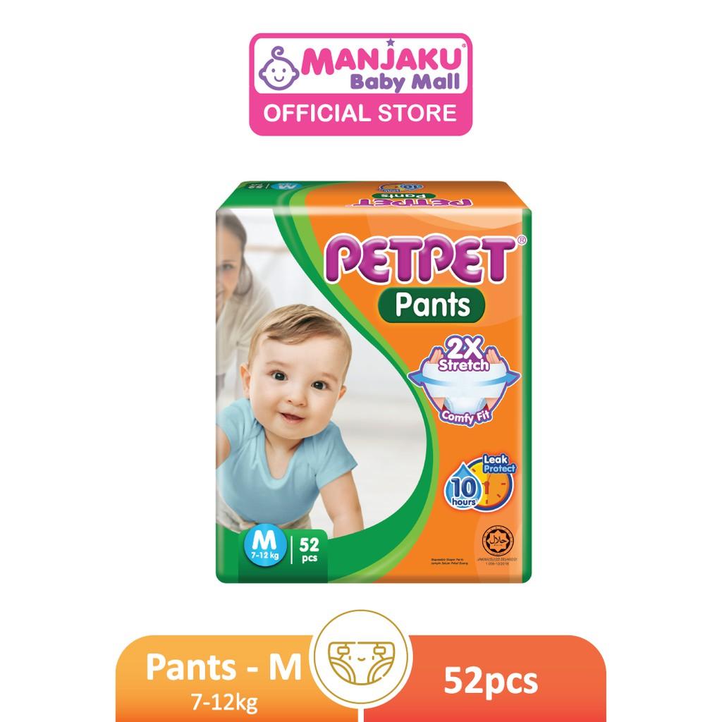PETPET Pants Jumbo Pack - M/L/XL/XXL